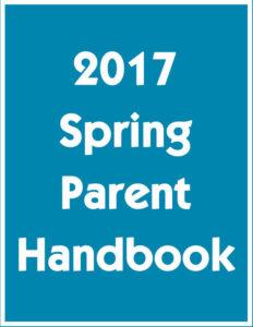 2017 Spring Parent Handbook