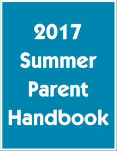 2017 Summer Parent Handbook