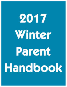 2017 Winter Parent Handbook