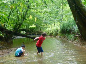 Rock Skippin' and Creek Chillin' Photo Gallery