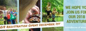 2018 Camp Registration is Open!